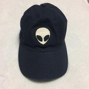 Brandy Melville Alien Patch Dad/Baseball Hat